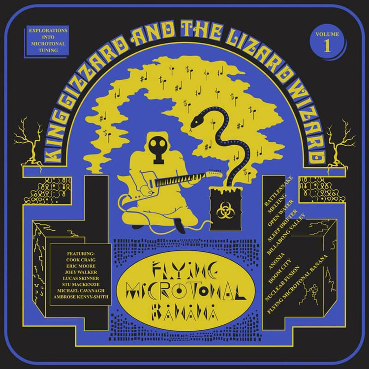 Flying Microtonal Banana, King Gizzard and the Lizard Wizard, 2017, fot. materiały prasowe